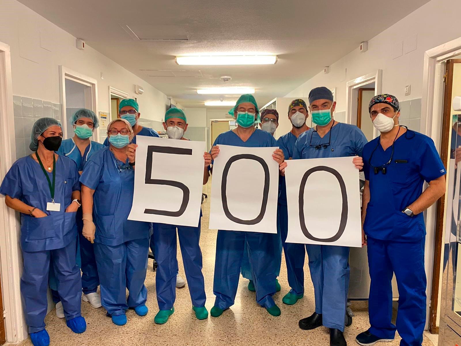 El Virgen del Rocío alcanza la cifra de 500 trasplantes de corazón