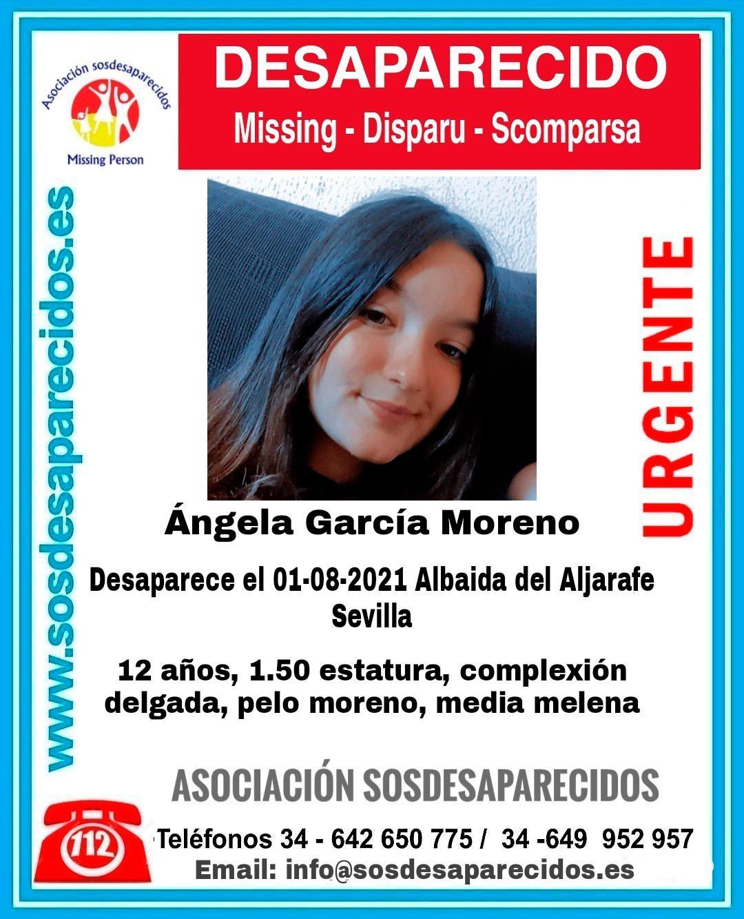 Buscan a una menor de 12 años desaparecida desde el domingo