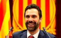El presidente del Parlament de Catalunya, Roger Torrent. / EFE