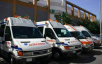 Los conductores de ambulancias estudian una posible huelga general