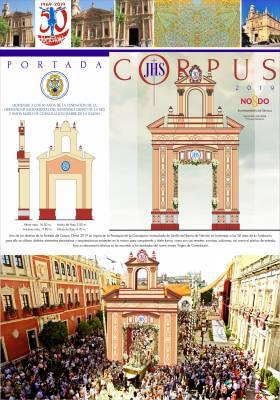 Las portadas del Corpus homenajean a las hermandades de Los