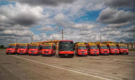 17a7badfbf Entra en funcionamiento el nuevo transporte urbano de Utrera con 5 líneas