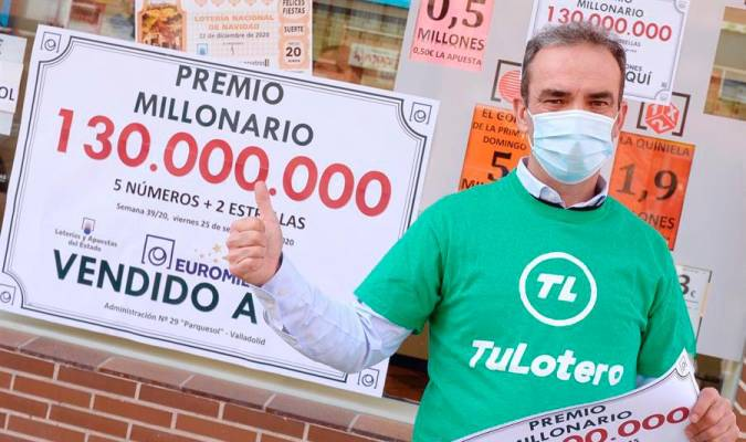 Una madrileña gana el bote del euromillón