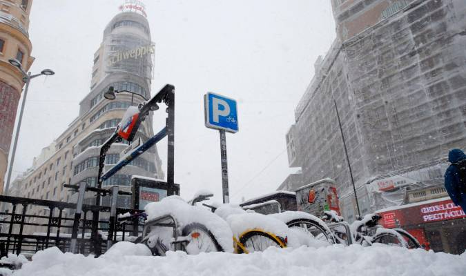 Nieve en Callao