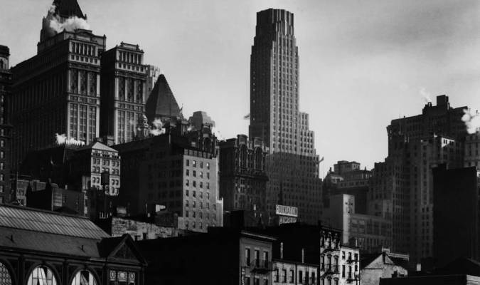 <p>West Street, 1932 </p><p>International Center of Photography Purchase, with funds provided by the National Endowment for the Arts and the Lois and Bruce Zenkel Purchase Fund, 1983 (388.1983) </p><p>© Getty Images/Berenice Abbott</p>