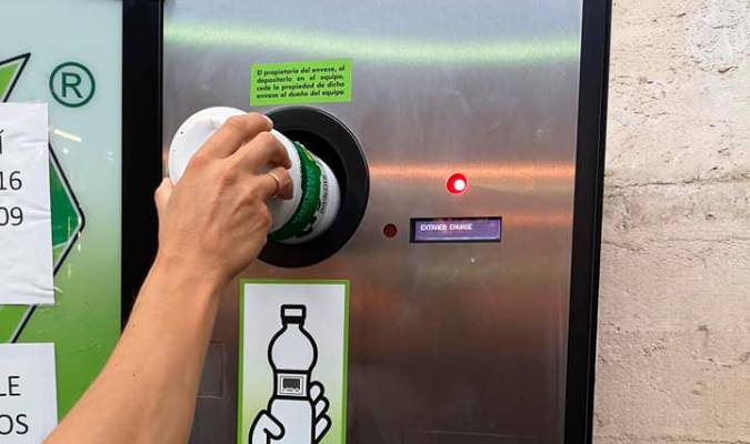 maquina de reverse vending