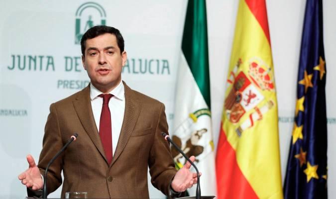 El Presidente De La Junta De Andalucía Expresa Condolencia Por