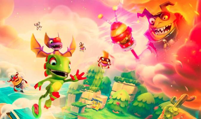 'Yooka-Laylee and the Impossible Lair' y el retorno a las plataformas clásicas