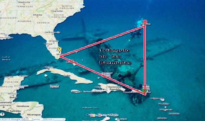 El temible Triángulo de las Bermudas