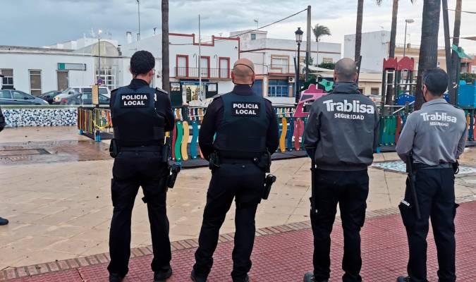 Vigilancia privada para apoyar a la Policía en el control de la pandemia