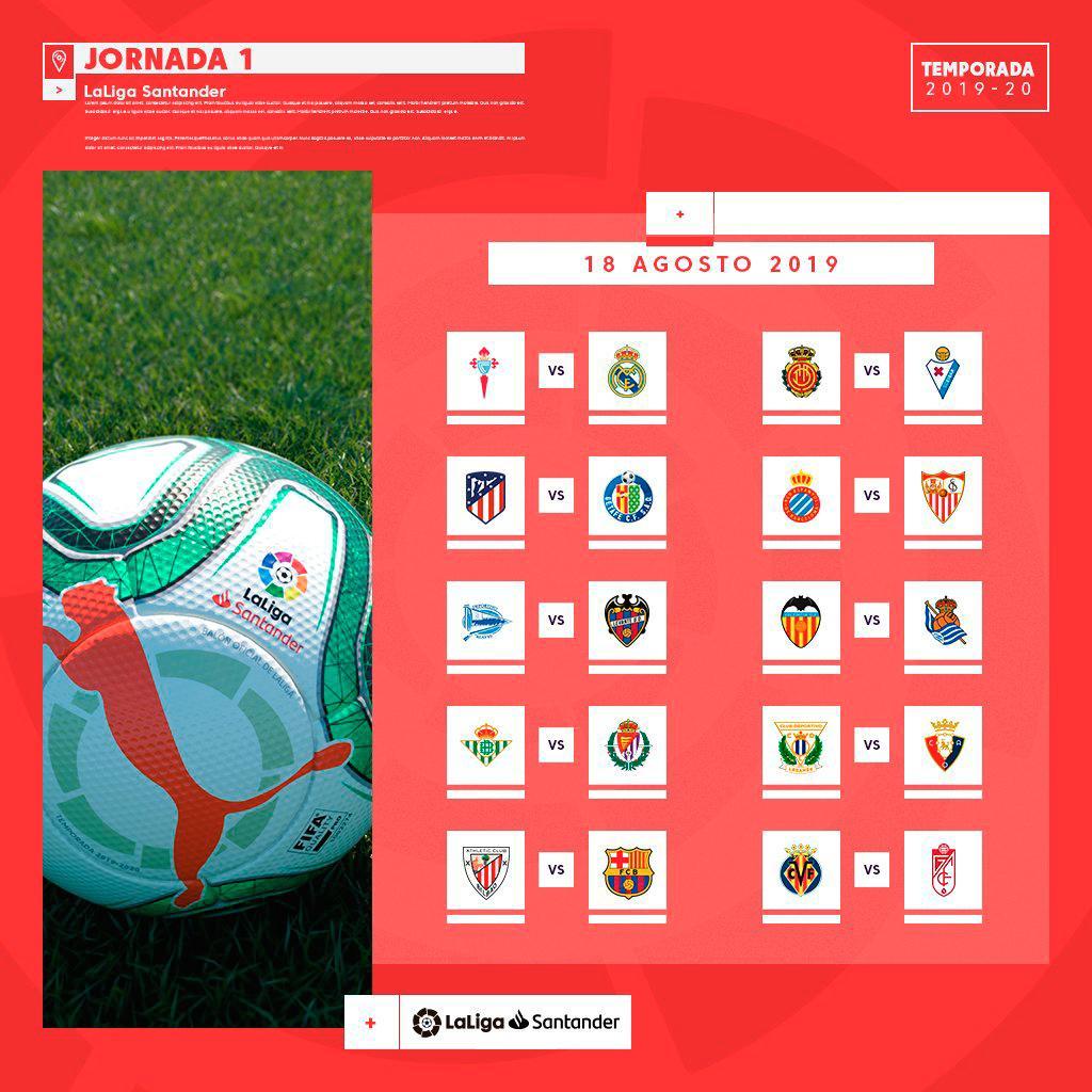Calendario Betis 2020.Calendario Completo De Sevilla Y Betis De La Temporada 2019 20
