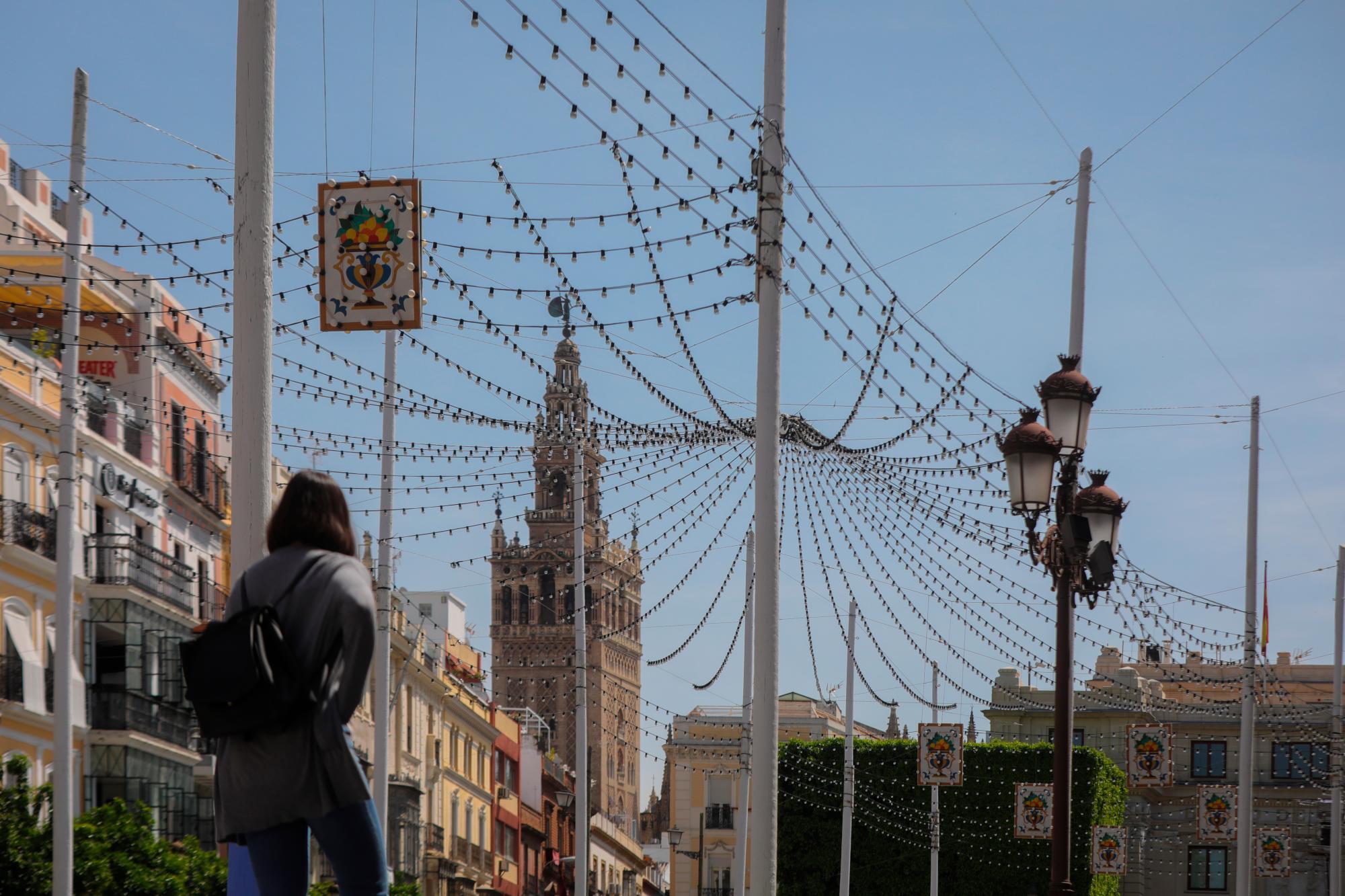 La pandemia democratiza el 'pescaíto' de la Feria de Sevilla