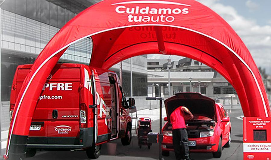 Mapfre realizará revisiones de vehículos gratuitas en Sevilla
