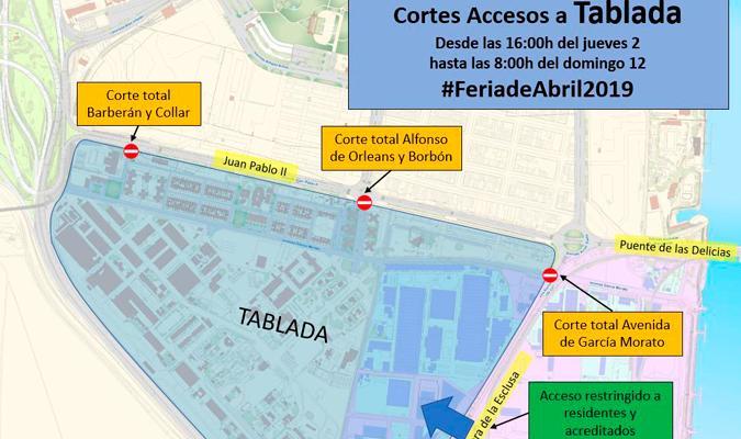 Mapa Feria Sevilla 2019.Comienza El Plan Especial De Movilidad De La Feria De Abril 2019