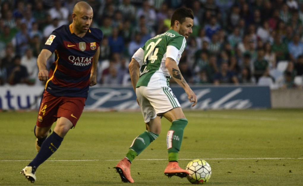 Las imágenes del Real Betis-FC Barcelona