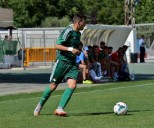 Edu Brenes, en un partido del Real Betis. / IS Sports Agency