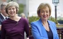 Theresa May y Andrea Leadsom. / Efe