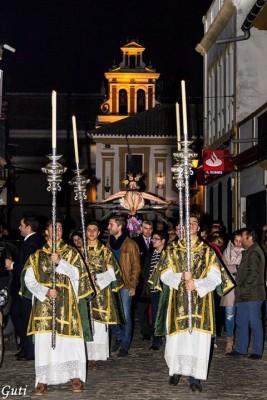 El viacrucis de la Vera Cruz da inicio a la Cuaresma en Guillena