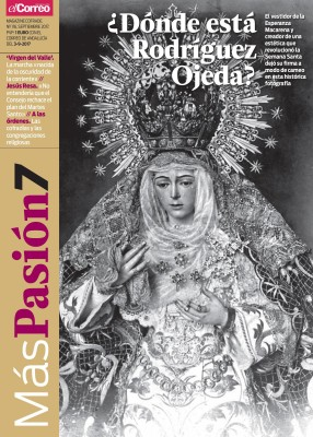 Portada 116 de Más Pasión con la Macarena tal y como la concibió Rodríguez Ojeda.