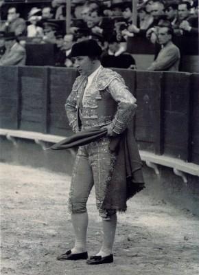 Manuel Jiménez 'Chicuelo' en una imagen de su última época en los ruedos. / Archivo A.R.M.