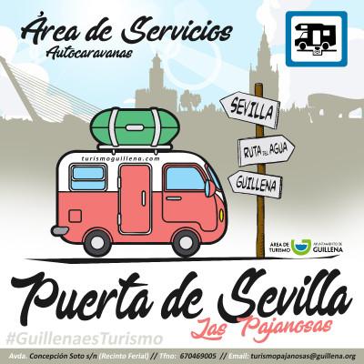 Abre sus puertas el área de servicio para autocaravanas en Las Pajanosas