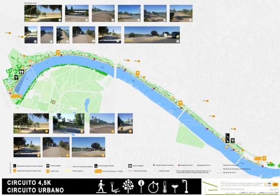 Circuito Urbano La Bañeza : Estreno de los circuitos para corredores