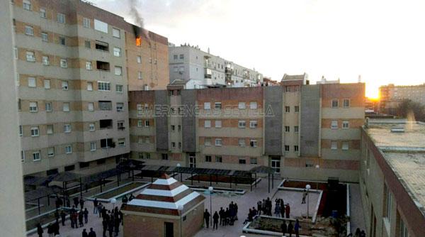 Herido leve tras incendiarse su piso en sevilla este - Pisos nuevos en sevilla este ...