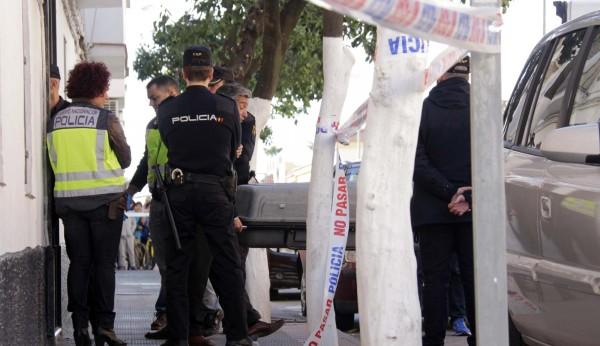 piernas policía