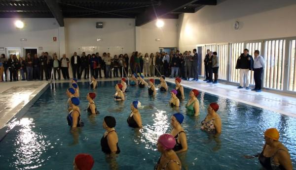 La nueva piscina cubierta de constantina costar for Piscina cubierta dos hermanas
