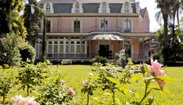Abren al p blico los jardines rom nticos de la casa rosa for Jardines romanticos