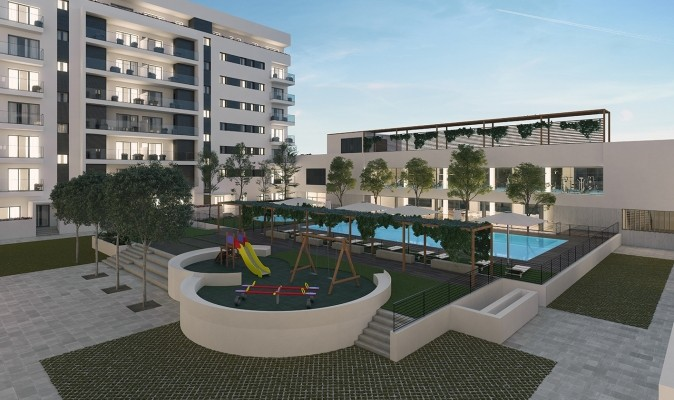 servicios de lujo para 230 pisos nuevos en la avenida de