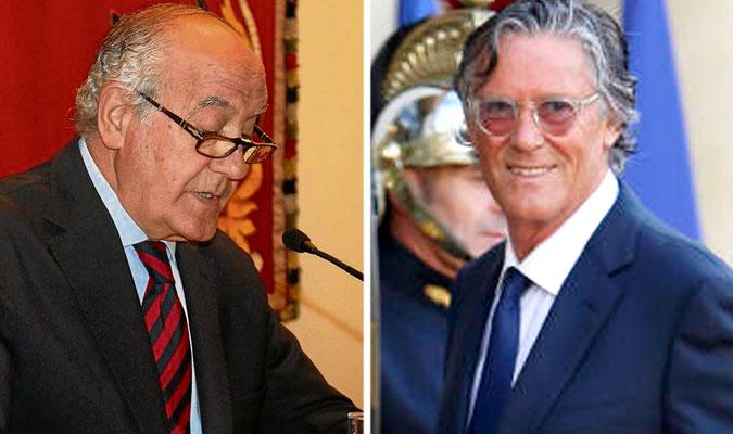 Ramón Valencia (izda.) y Simón Casas (dcha.). / El Correo