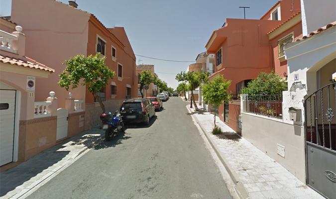 Calle Sevilla en Casttilleja de Guzmán. / Google Maps.