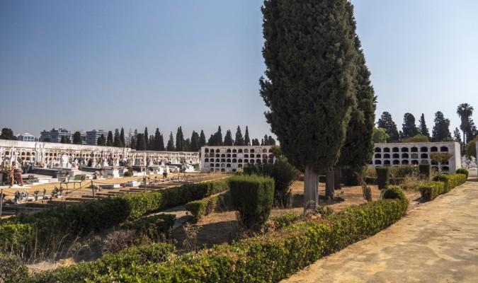 Zona de la fosa común de Pico Reja en el Cementerio de San Fernando. / Txetxu Rubio