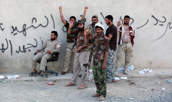 Las fuerzas iraquíes entran en Mosul por el frente oriental