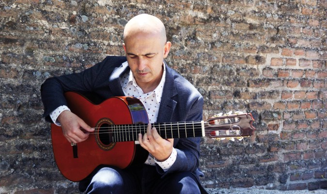 El guitarrista algecireño José María Bandera. / El Correo