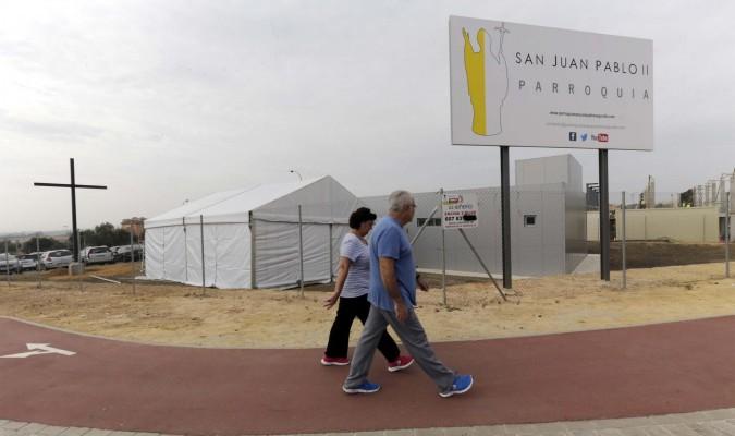 Resultado de imagen de Parroquia de San Juan Pablo II montequinto