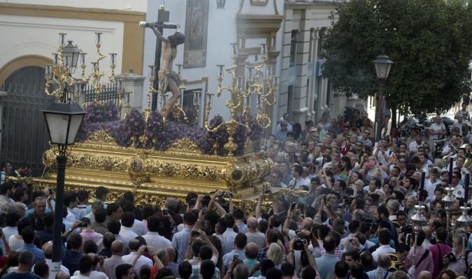 <p>IV centenario</p><p>Procesión extraordinaria del Santísimo Cristo de los Desamparados el pasado 10 de junio. / Foto: M. Gómez</p>