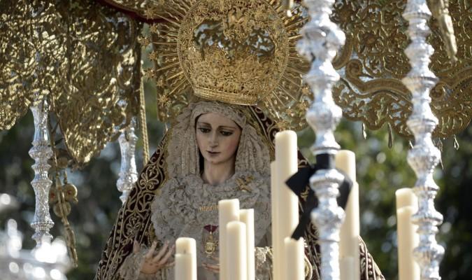 La Virgen del Patrocinio es obra de Luis Álvarez Duarte. / Manuel Gómez