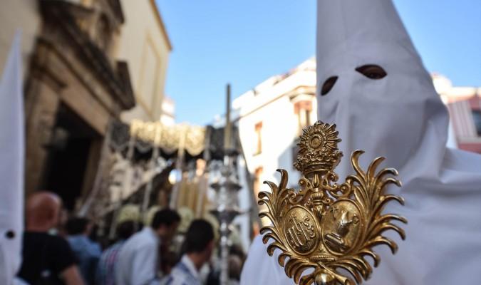 La Candelaria será una de las beneficiadas con este nuevo Martes Santo, ya que adelantará considerablemente su hora de entrada. / Jesús Barrera