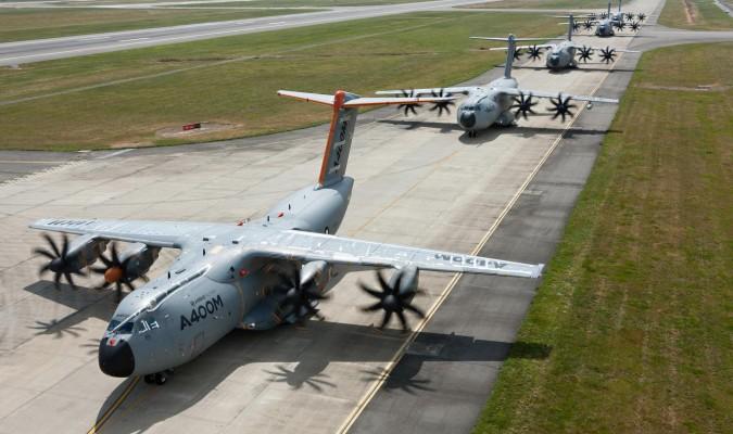 Airbus prevé entregar entre 14 y 18 aviones A400M para final de año
