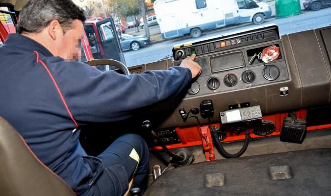 Resultado de imagen de conductor bomberos