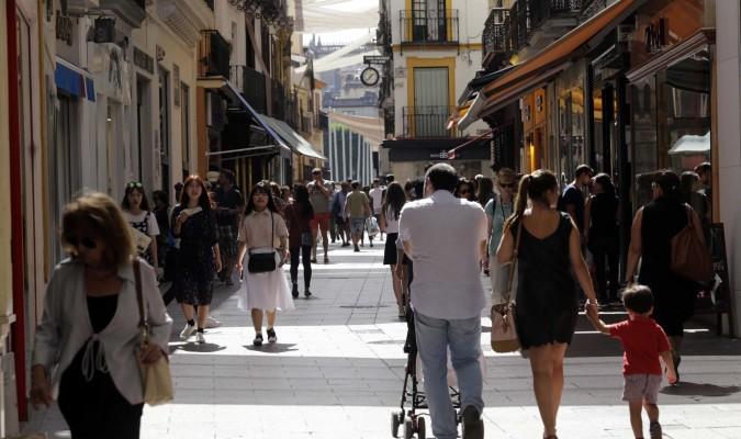 Los comercios del centro abrir n los festivos en semana for Servicio tecnico jane sevilla calle feria