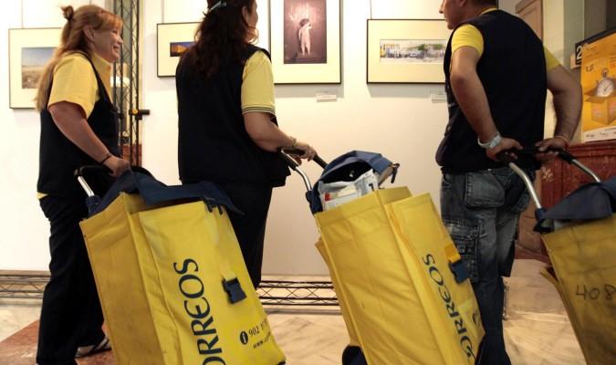 Correos lanza una oferta de empleo para trabajadores for Oficina central de correos madrid