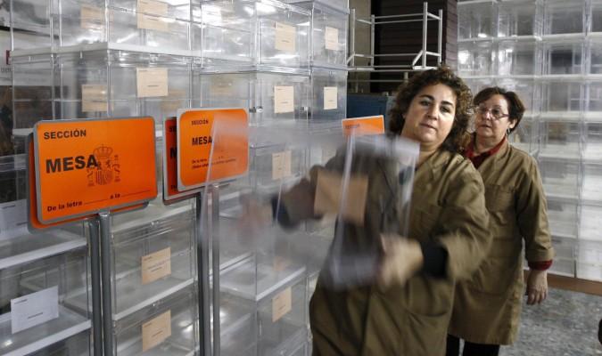 Un mill n y medio de sevillanos est n llamados a votar for Oficina del censo electoral madrid