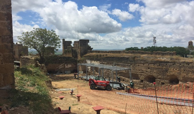 El Alcázar de Arriba abrirá en septiembre