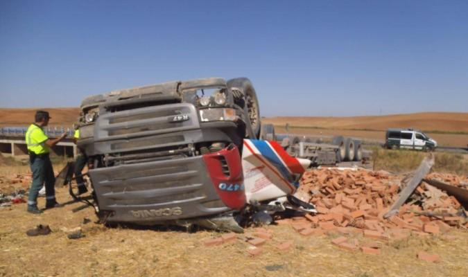 Un nuevo accidente mortal reactiva el frente por el desdoble de la N-IV