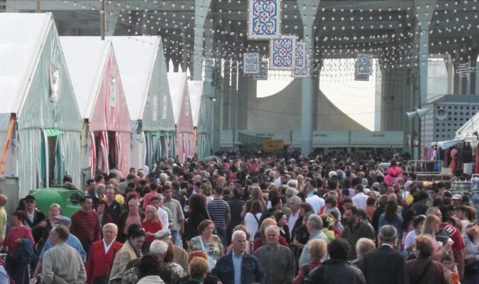 La feria de abril se va de barcelona for Ferias barcelona hoy