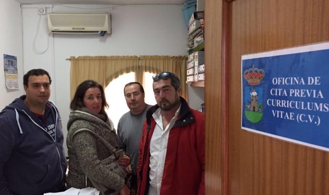 El ayuntamiento de aznalc llar crea una oficina de empleo for Oficina desempleo cita previa