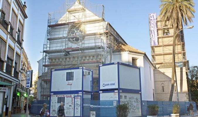 Santa Catalina en obras